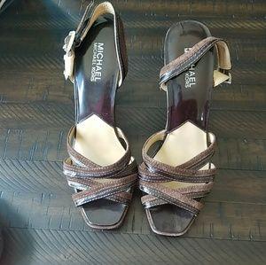 Chocolate Brown Dress Sandals